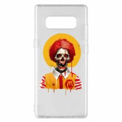 Чохол для Samsung Note 8 Clown McDonald's skeleton