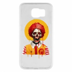 Чохол для Samsung S6 Clown McDonald's skeleton