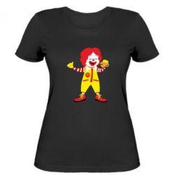 Жіноча футболка Clown McDonald's