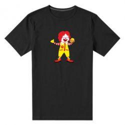 Чоловіча стрейчева футболка Clown McDonald's