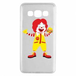 Чохол для Samsung A3 2015 Clown McDonald's