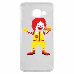Чохол для Samsung A3 2016 Clown McDonald's