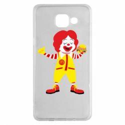 Чохол для Samsung A5 2016 Clown McDonald's