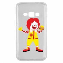 Чохол для Samsung J1 2016 Clown McDonald's