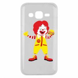 Чохол для Samsung J2 2015 Clown McDonald's