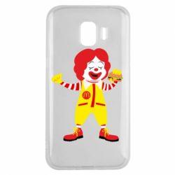 Чохол для Samsung J2 2018 Clown McDonald's