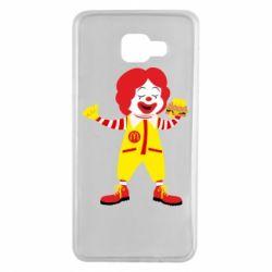 Чохол для Samsung A7 2016 Clown McDonald's