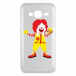Чохол для Samsung J3 2016 Clown McDonald's