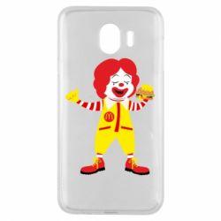 Чохол для Samsung J4 Clown McDonald's