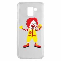 Чохол для Samsung J6 Clown McDonald's