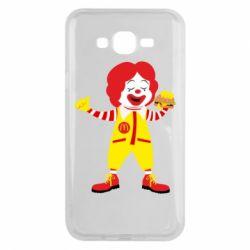 Чохол для Samsung J7 2015 Clown McDonald's