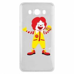 Чохол для Samsung J7 2016 Clown McDonald's