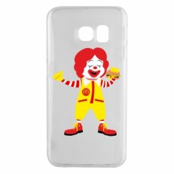 Чохол для Samsung S6 EDGE Clown McDonald's