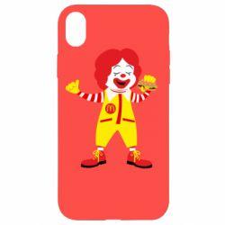 Чохол для iPhone XR Clown McDonald's