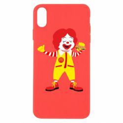 Чохол для iPhone Xs Max Clown McDonald's