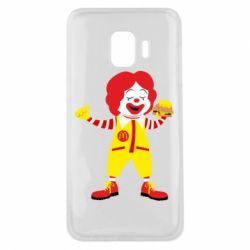 Чохол для Samsung J2 Core Clown McDonald's