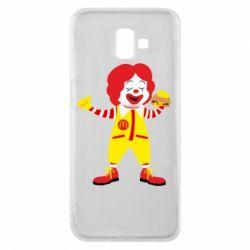 Чохол для Samsung J6 Plus 2018 Clown McDonald's