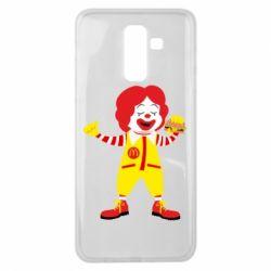 Чохол для Samsung J8 2018 Clown McDonald's