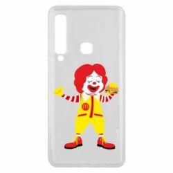 Чохол для Samsung A9 2018 Clown McDonald's