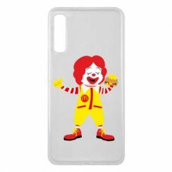 Чохол для Samsung A7 2018 Clown McDonald's