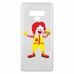 Чохол для Samsung Note 9 Clown McDonald's