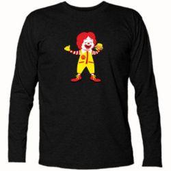 Футболка з довгим рукавом Clown McDonald's