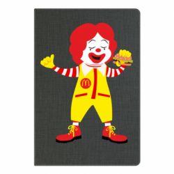 Блокнот А5 Clown McDonald's