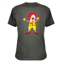 Камуфляжна футболка Clown McDonald's