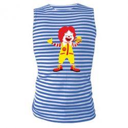 Майка-тільняшка Clown McDonald's