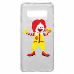 Чохол для Samsung S10+ Clown McDonald's