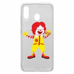 Чохол для Samsung A30 Clown McDonald's