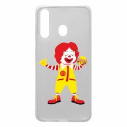 Чохол для Samsung A60 Clown McDonald's