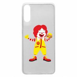 Чохол для Samsung A70 Clown McDonald's
