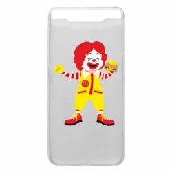 Чохол для Samsung A80 Clown McDonald's