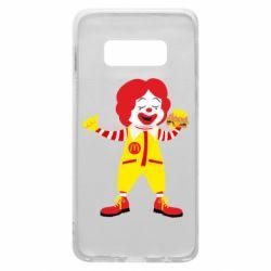Чохол для Samsung S10e Clown McDonald's