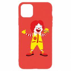 Чохол для iPhone 11 Clown McDonald's