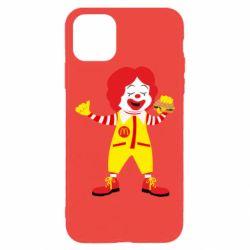 Чохол для iPhone 11 Pro Clown McDonald's