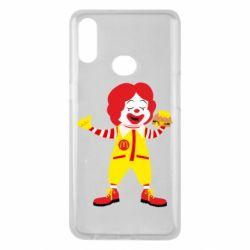 Чохол для Samsung A10s Clown McDonald's