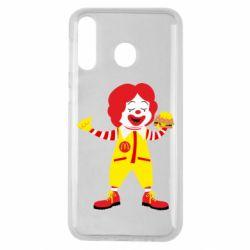 Чохол для Samsung M30 Clown McDonald's