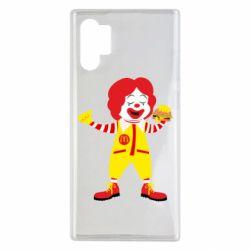 Чохол для Samsung Note 10 Plus Clown McDonald's
