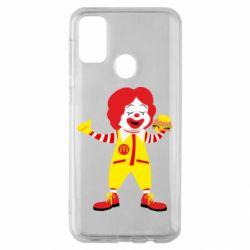 Чохол для Samsung M30s Clown McDonald's