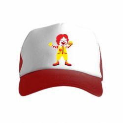 Дитяча кепка-тракер Clown McDonald's