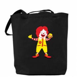 Сумка Clown McDonald's