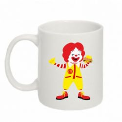 Кружка 320ml Clown McDonald's