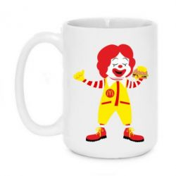Кружка 420ml Clown McDonald's