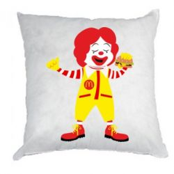 Подушка Clown McDonald's