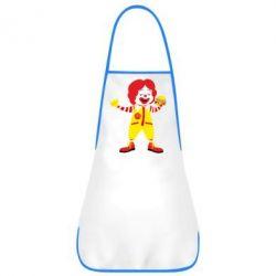 Фартух Clown McDonald's