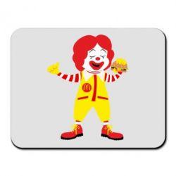 Килимок для миші Clown McDonald's