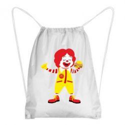 Рюкзак-мішок Clown McDonald's