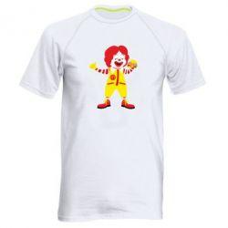 Чоловіча спортивна футболка Clown McDonald's